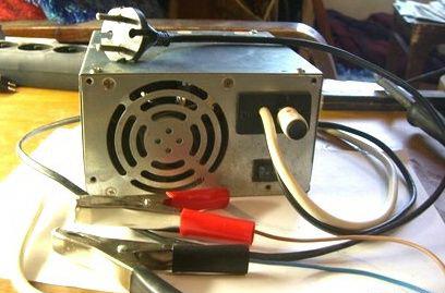 Зарядное устройство из компьютерного БП.
