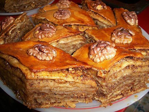 Настоящая армянская пахлава рецепт
