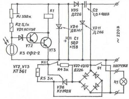 Зарядное устройство для автомобильного аккумулятора на симисторе 42