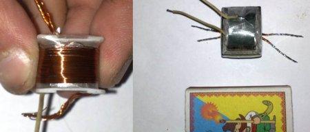 Готовый трансформатор для электрошокера