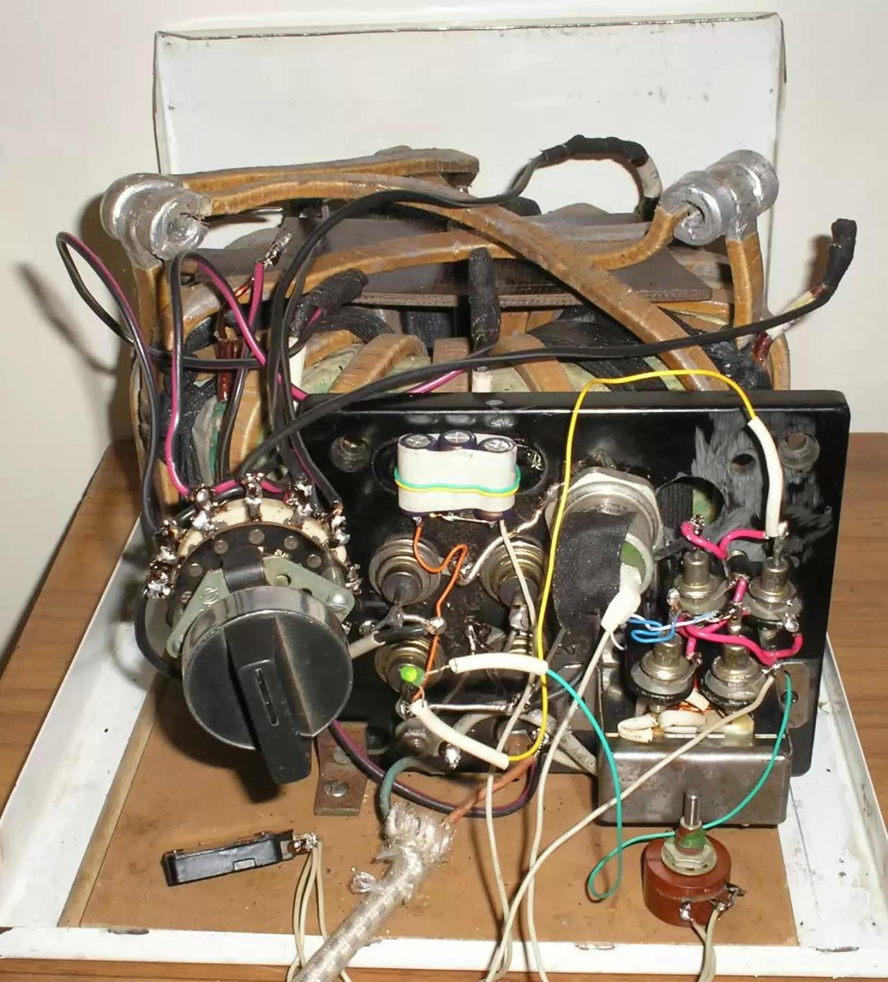 Трансформатор для сварочного полуавтомата расчет намотка
