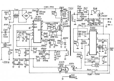 Схема ac adapter model pa-1900-24