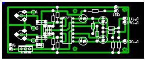 Простой аналоговый индикатор уровня сигнала для УНЧ.