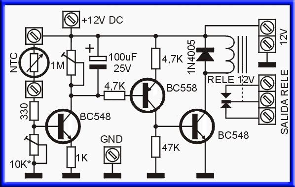 Схема терморегулятора для вентилятора бп атх