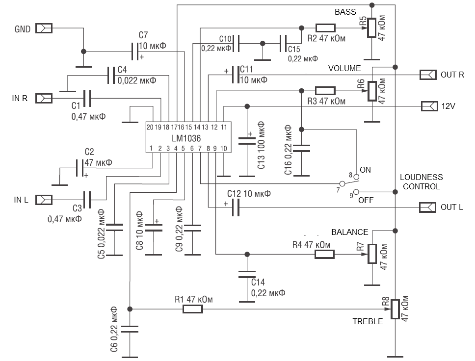 Lm1785 мостовая схема