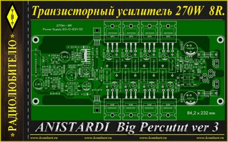 Anistardi Big Perkutut Amplifier ver3