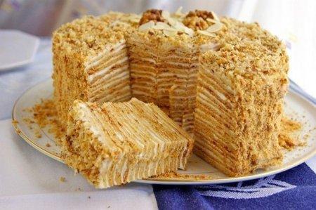 Рецепты тортов  -  пальчики оближешь!