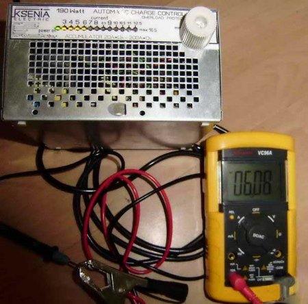 Индикаторы  зарядного  тока для зарядных устройств и защита от переполюсовки