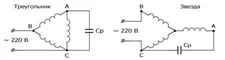Как подключить трехфазный электродвигатель к сети 220 В. Регулятор оборотов.