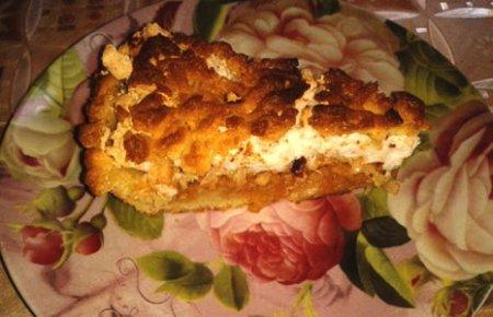 Побалуйте близких вкусным пирогом.
