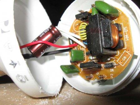 Как переделать электронный балласт энергосберегающей лампы в импульсный БП