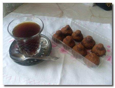 Трюфели и кофе