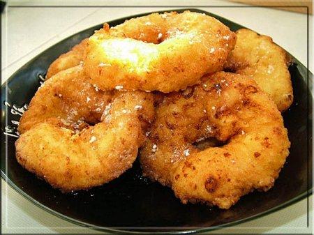 Творожно-сметанные пончики