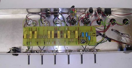 Ламповый двухтактный гитарный усилитель 50 ватт на EL34.