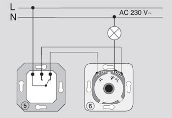 Схема подключения диммера 3
