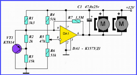 Термодатчик для вентилятора_схема 1