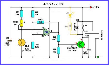 Термодатчик для вентилятора_схема 3