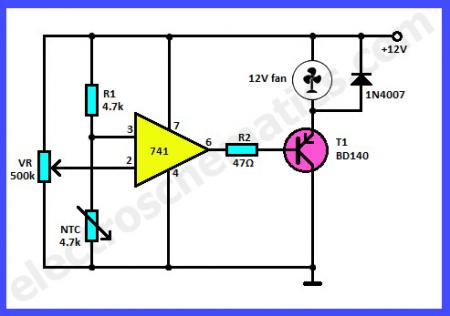 Термодатчик для вентилятора_схема 5