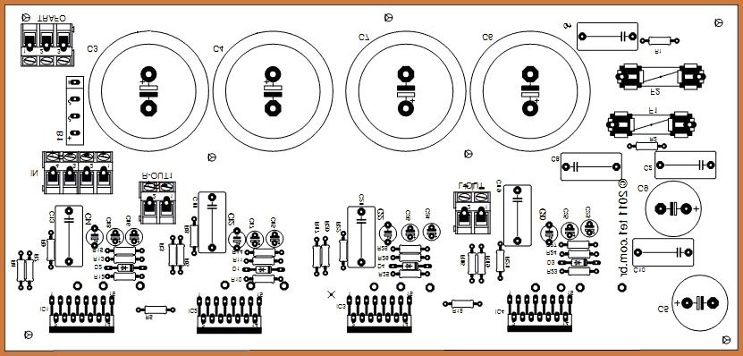 Схема, уНЧ на псевдо igbt- транзисторах, микросхема