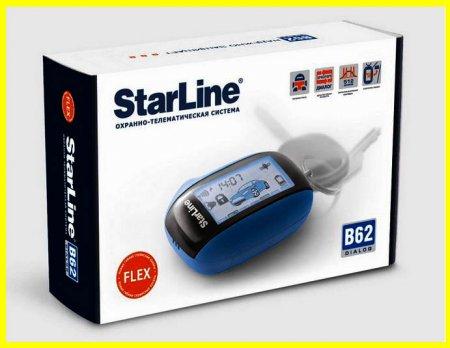 Авто-сигнализация StarLine B62