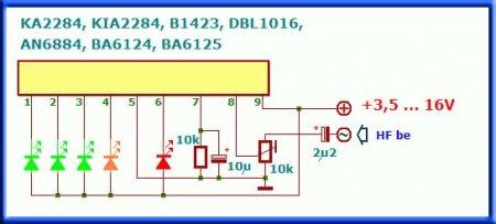 Аналоги микросхемы AN6884