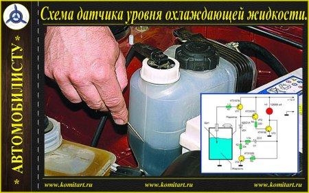 Сигнализатор уровня охлаждающей жидкости