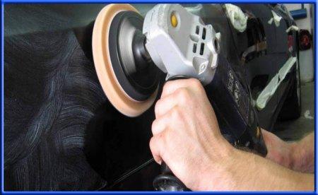 Полировка лакокрасочного покрытия авто