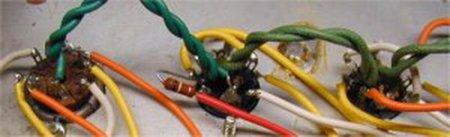 Панельки ламп 12AX7