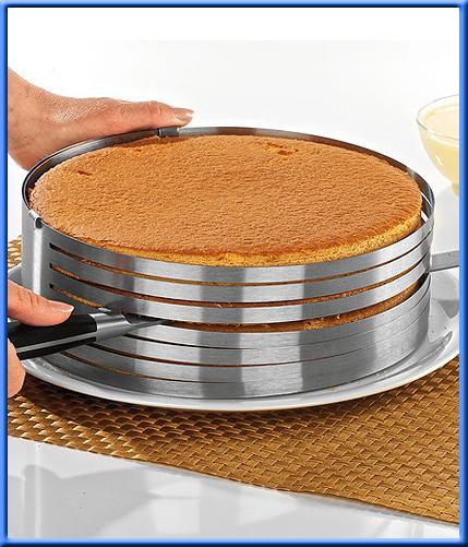 Приспособление для нарезки бисквитных коржей