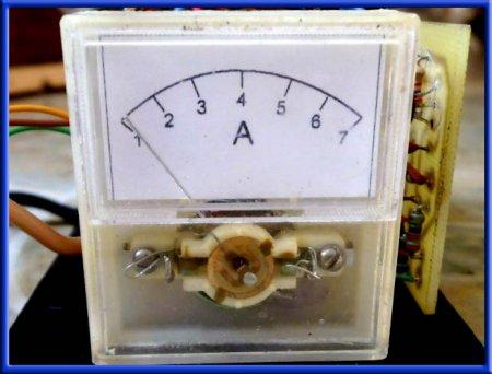 Измерительная головка для зарядного устройства