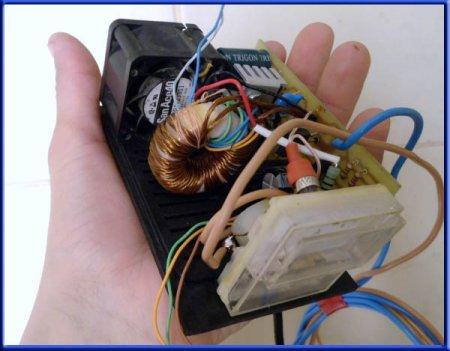 Импульсное зарядное устройство в сборе