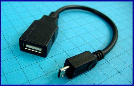 6_переходник OTG MICRO USB THROW OTG_USB