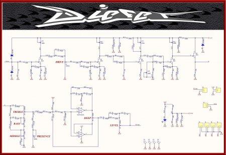 Принципиальная схема Diezel VH4S Simulation