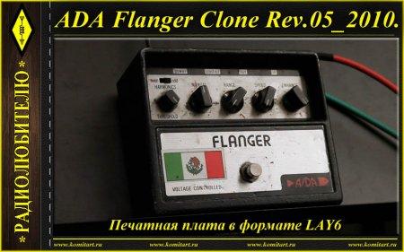 ADA Flanger Clone Rev.05_2010