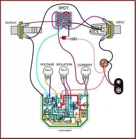Внешние соединения 3000 volt