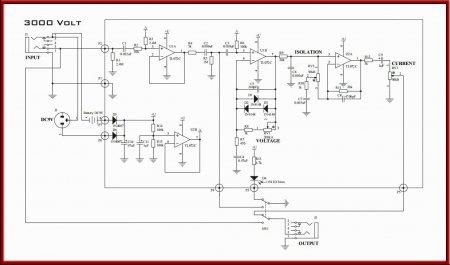 Принципиальная схема 3000 volt