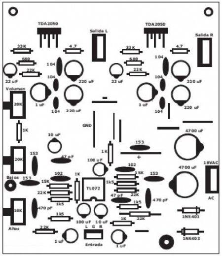 Расположение элементов на плате_2