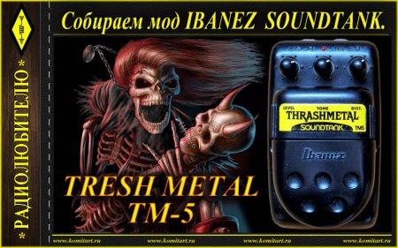 Собираем мод Ibanez Tresh Metal TM-5