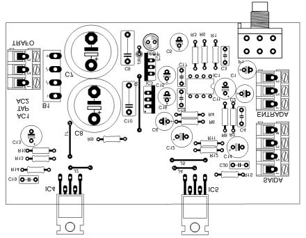 Усилитель на NE5532N + TDA2050.