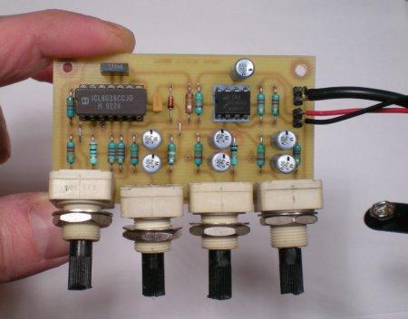 Плата генератора в сборе_ICL8038_LM741