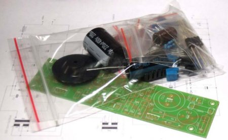 Набор-конструктор блока питания лампового преампа