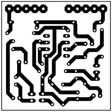 Плата индикатора уровня PCB