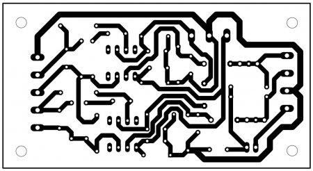 Плата микрофонного преампа PCB