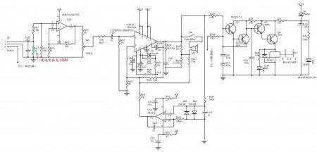 Схема усилителя TDA7294BSRV