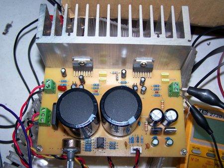 Плата усилителя TDA7294-AMP-MULTI V2.0 PA в сборе