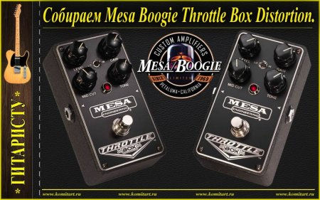 Собираем MESA BOOGIE THROTTLE BOX DISTORTION