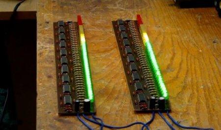 80-leds-stereo-vu-meter_плата в сборе