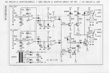 Принципиальная схема Velleman K4700