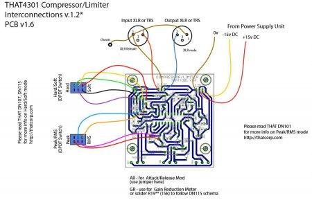 Схема внешних соединений компрессора_лимитера