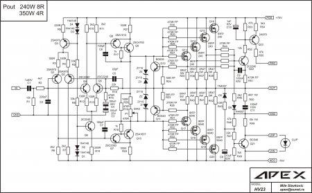 APEX HV23 schematic 1